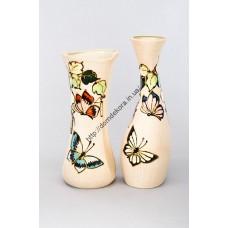 ваза Бабочка на листьях (Ю)