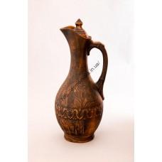 кувшин винный декор, красная глина (И)