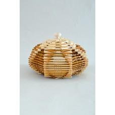 Конфетница деревянная