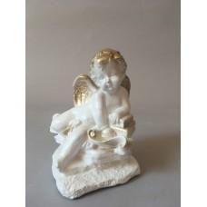 Сувенир Ангел  на камнях маленький (А)