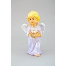 Ангел девочка с птичками цвет (ХН)