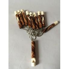 Брелок деревянный свисток